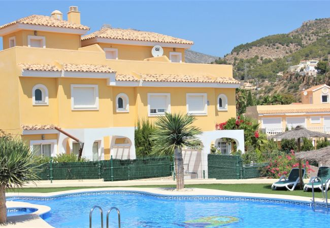Chalet en Calpe - MONTESOL76-Wifi y Parking Gratis-Cerca Playa.