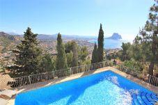 Villa en Calpe - MARYVILLA10102-Gran Vista-Wifi y Parking Gratis.