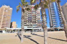 Апартаменты на Кальпе / Calpe - APLAYAMAR7-1ºlínea Playa-Wifi y Garaje Gratis.