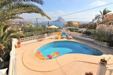 Вилла на Кальпе / Calpe - MARYVILLA0144-Gran Vista-Wifi y Parking Gratis.